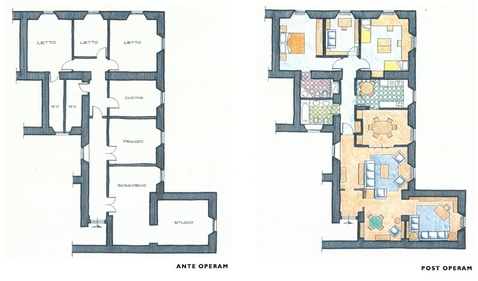 Progettazione di interni arch santulli sanzo for Progettazione di interni gratis