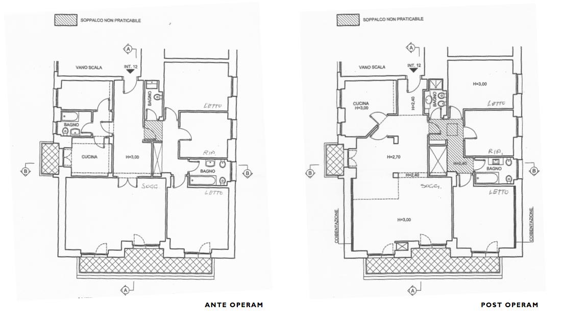 Progettazione di interni arch santulli sanzo - Divisione interna armadio ...
