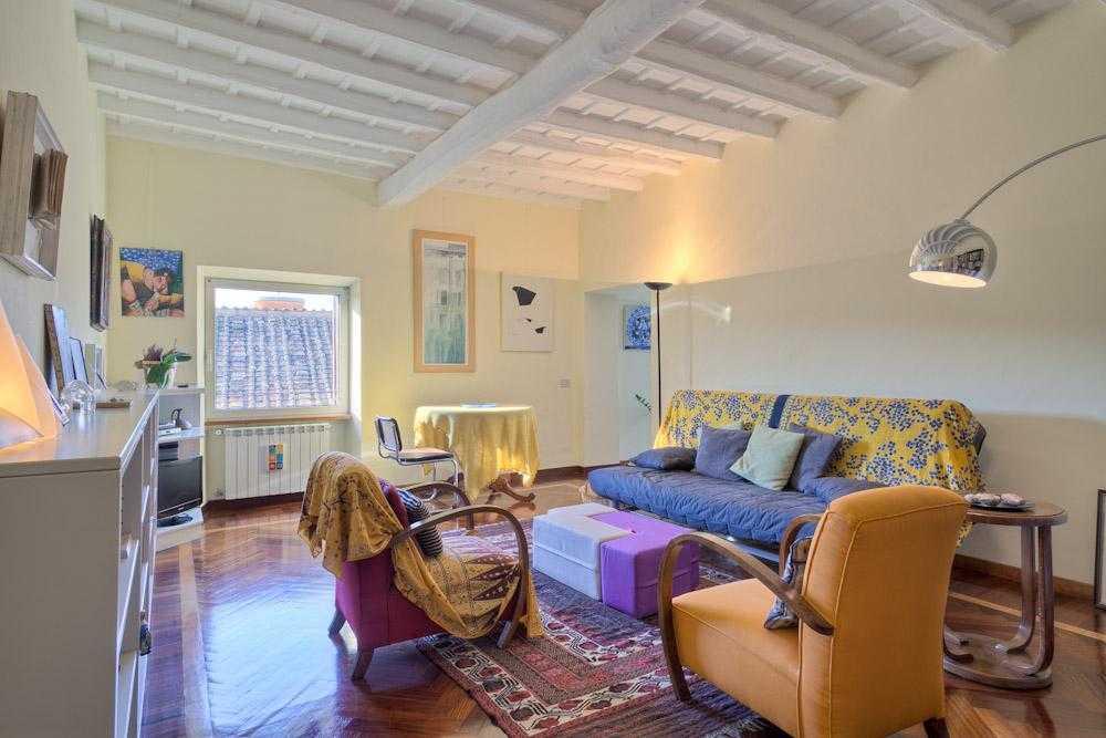 Roma trastevere vendita appartamento panoramico for Appartamenti vendita roma