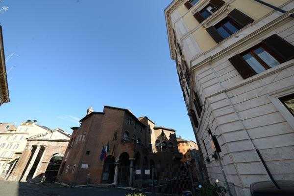 Roma centro storico – Ghetto Portico d'Ottavia