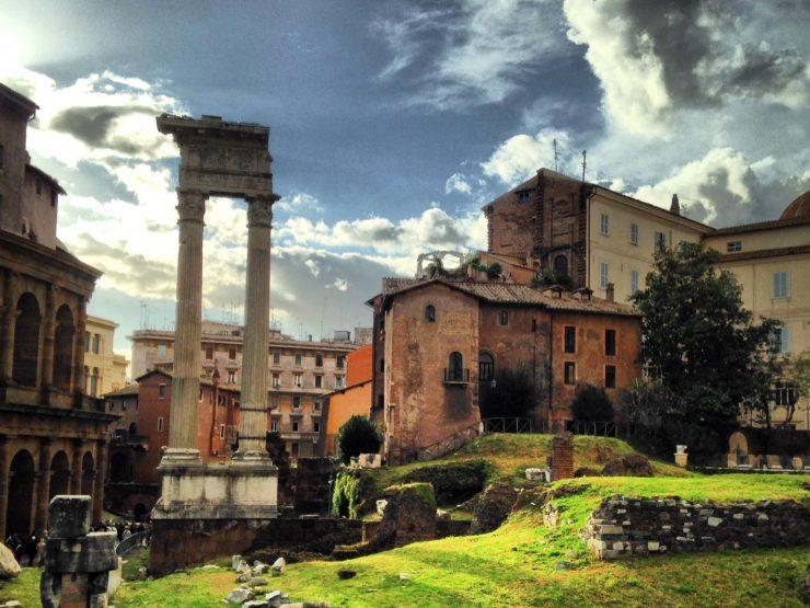 Roma vendita Palazzetto cielo terra zona Foro Romano