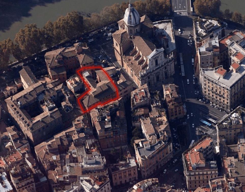 Roma centro storico Palazzo mq 3000 destinazione ricettiva o residenziale