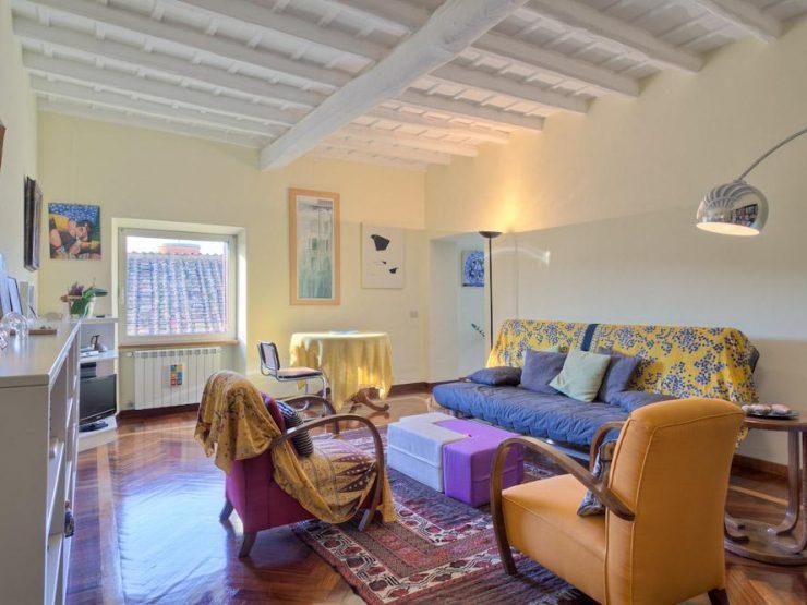 Roma Trastevere Appartamento panoramico