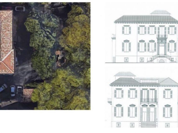 Roma Parioli Pinciano Villa Liberty