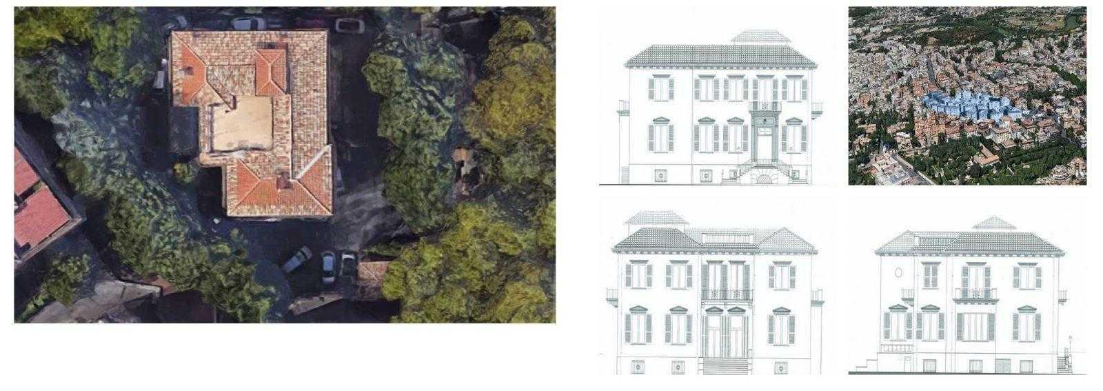 Roma parioli pinciano affitto villa liberty for Affitto studio medico roma parioli