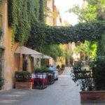 Roma centro storico affitto posto auto via Margutta