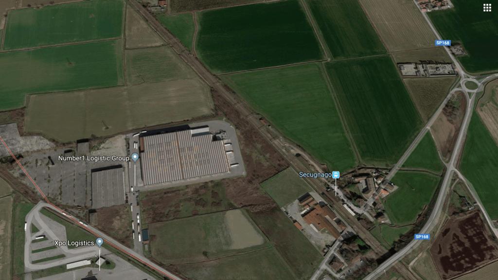 Secugnago – Lodi  Terreno a vocazione Industriale