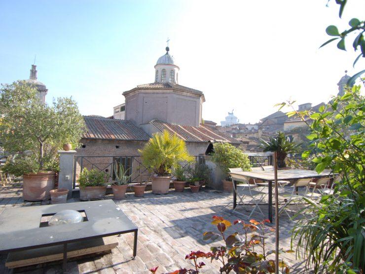 Roma Centro Storico Vendita Attico di prestigio portico ottavia