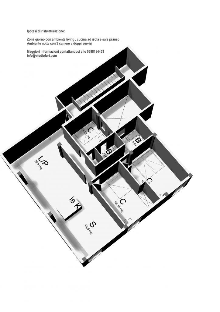 Appartamento vendita villaggio olimpico