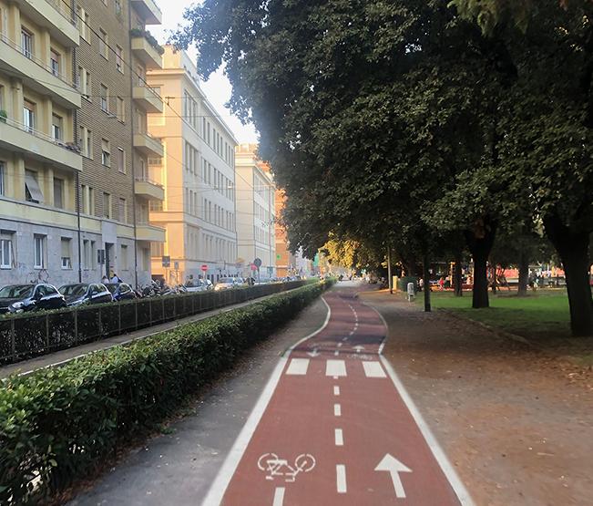 Prefigurazione di una città sostenibile