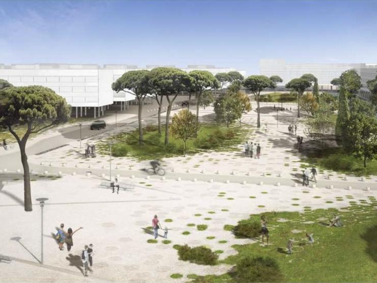 Nuovo progetto di riqualificazione delle aree verdi del Villaggio Olimpico