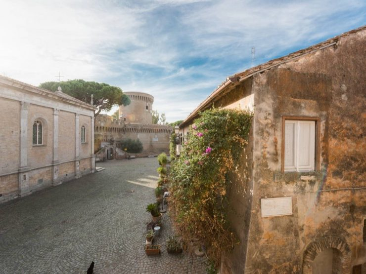 Ostia Antica Borgo Rinascimentale Affitto Appartamento Via del Vescovado
