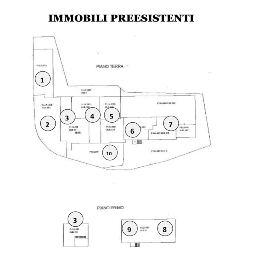 area fabbricabile a Roma Nord, zona Villa Spada preesistenze