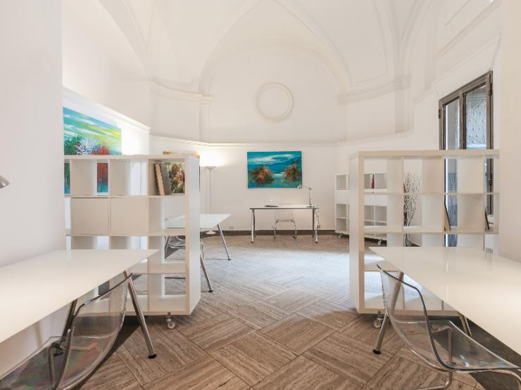 Palatinus – Ufficio temporaneo arredato e indipendente a Roma con soffitti a volta