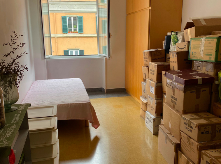 vendita trilocale via pinturicchio Roma